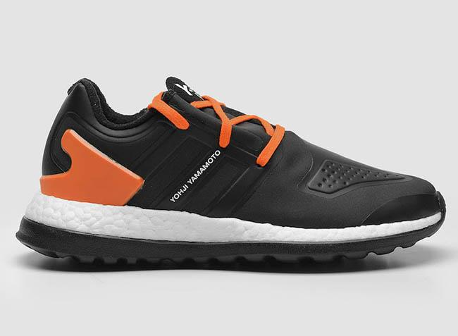 adidas Y-3 Pure Boost ZG Black Orange  d35745762ff6
