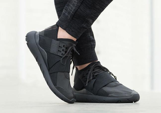 adidas Y-3 Qasa Elle Lace Black Carbon
