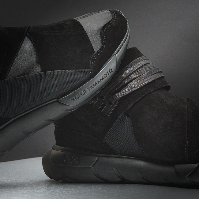 adidas Y-3 Qasa High Premium Triple Black