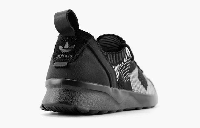 Adidas Zx Fluks Adv Kraft Primeknit Kjerne Svart 9d67tra