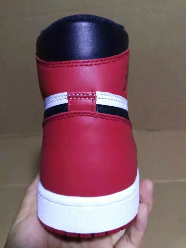 Air Jordan 1 High Black Toe 2016