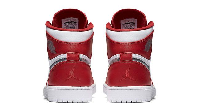 Air Jordan 1 Retro High Silver Medal