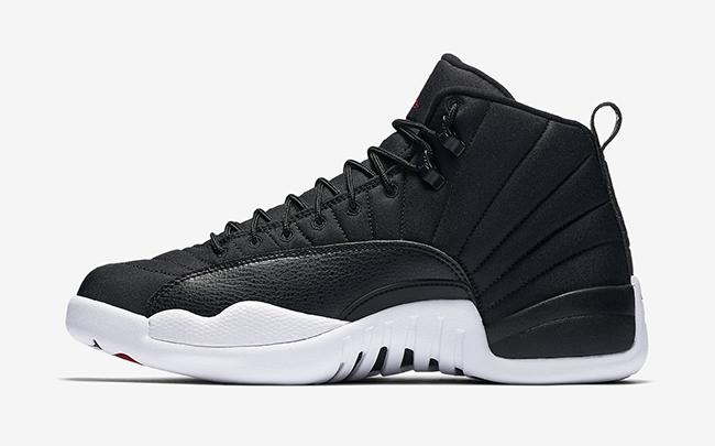 Air Jordan 12 Black Nylon Official