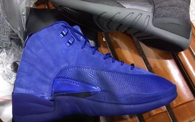 First Look: Air Jordan 12 Premium 'Deep Royal Blue'