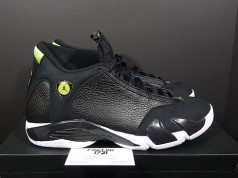 Air Jordan 14 Retro Indiglo Vivid Green