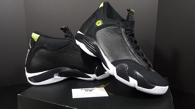 check out 74791 f18a5 Air Jordan 14 Indiglo Retro 2016 | SneakerFiles