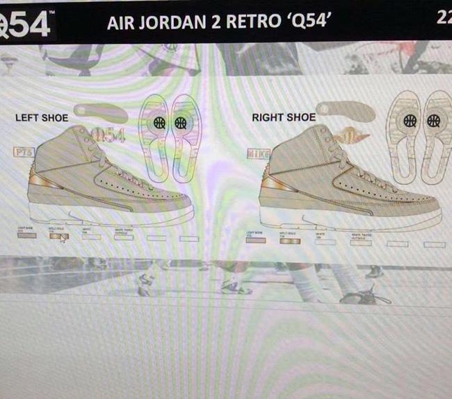 Air Jordan 2 Retro Quai 54