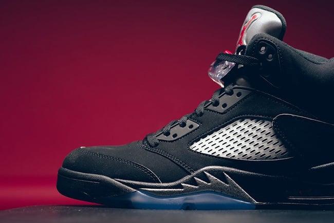 934e8e2292c5e1 delicate The Nike Air Jordan 5 OG Black Metallic Releases Tomorrow ...