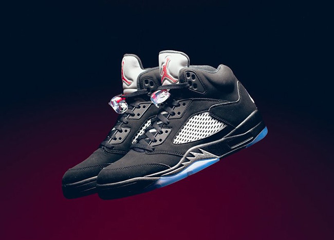 Air Jordan 5 OG Black Metallic Release