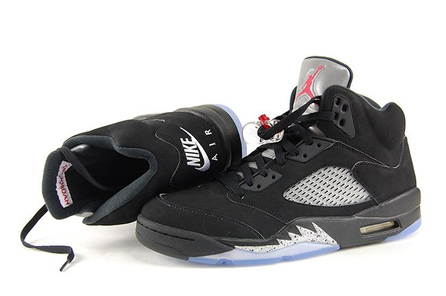 e632fc52516 Air Jordan 5 OG Black Metallic Silver Nike Air 2016 Review On Feet