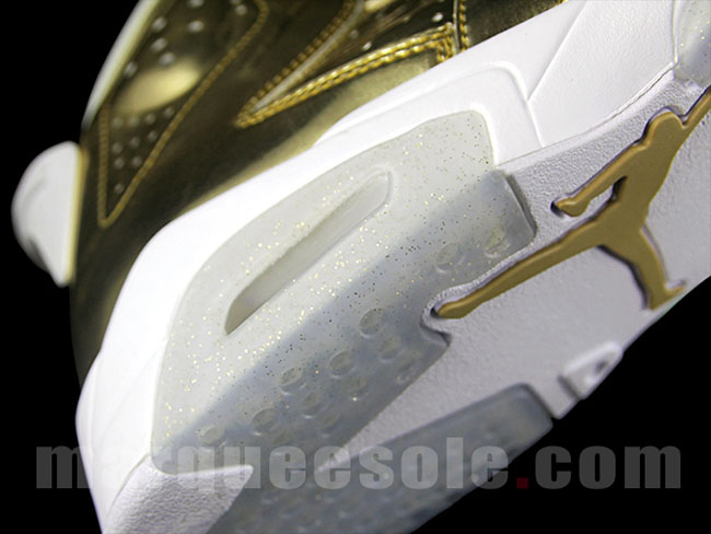 Air Jordan 6 Metallic Gold Pinnacle