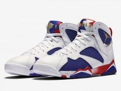 Air Jordan 7 Alternate Olympic Official Release