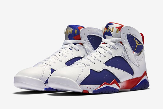 Air Jordan 7 Alternate Olympic Official Release