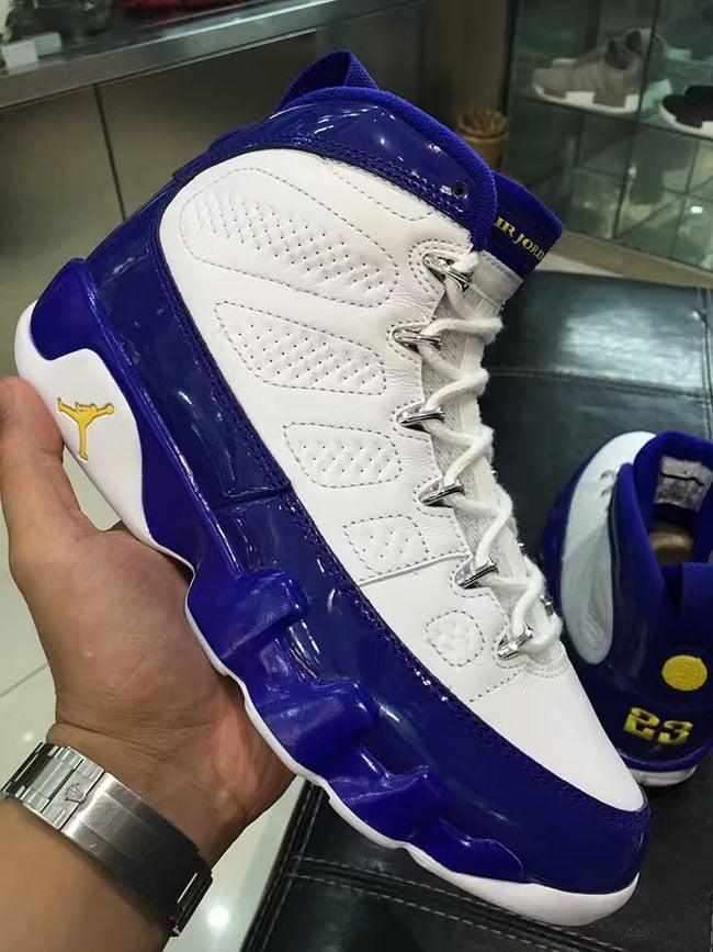low priced 84e13 17ae0 Air Jordan 9 Kobe Bryant