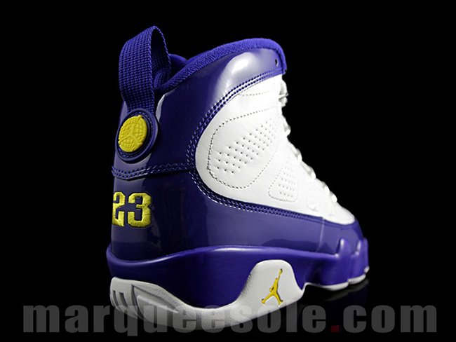 Air Jordan 9 Kobe Bryant Lakers