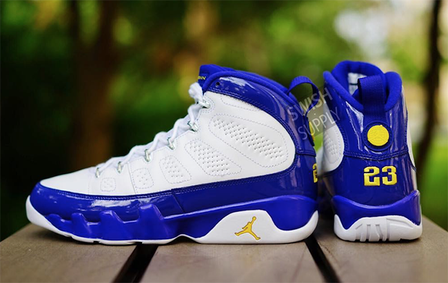 Air Jordan 9 Retro Kobe Lakers
