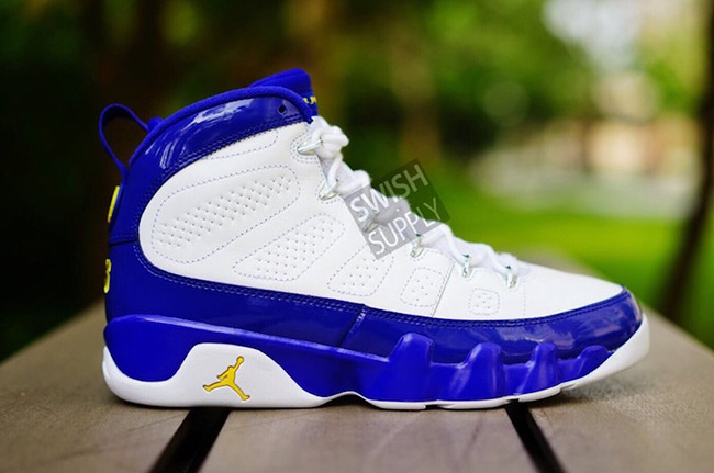 Air Jordan 9 Retro Kobe Lakers