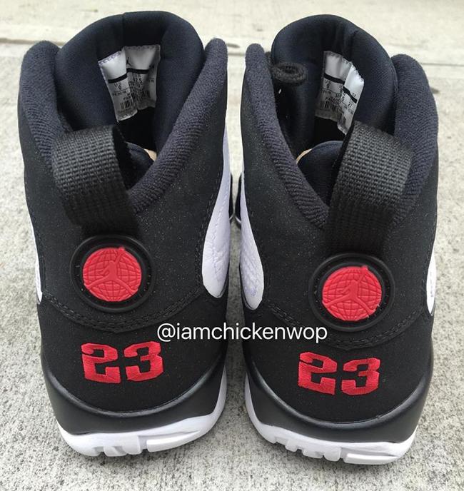 ccf8e7d304f7c2 Air Jordan 9 OG White Black Red 2016