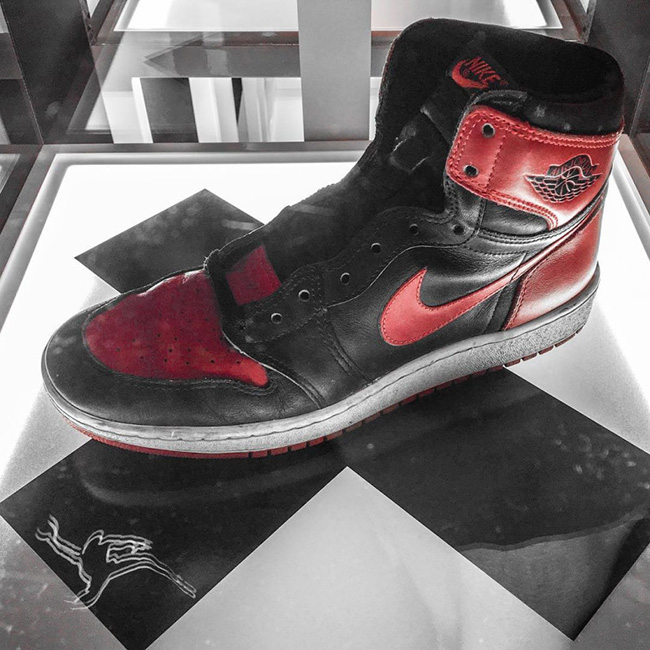 Air Jordan Banned Red Collection 1
