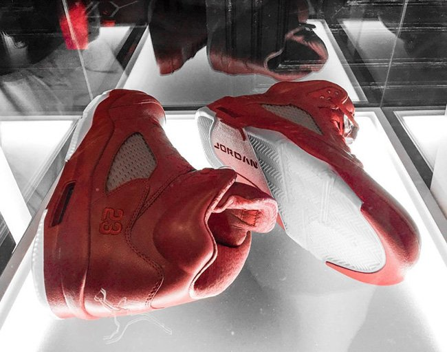 Air Jordan Banned Red Collection 5