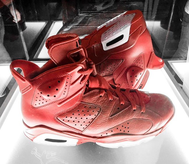 Air Jordan Banned Red Collection 6