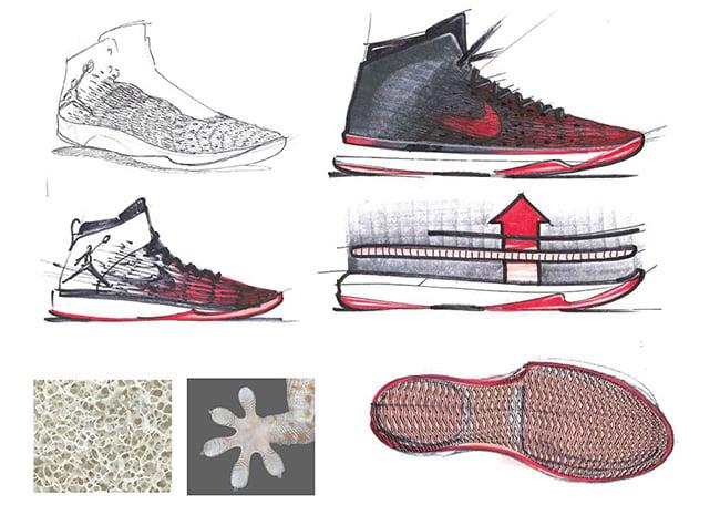 Air Jordan XXX1 Banned Sketch