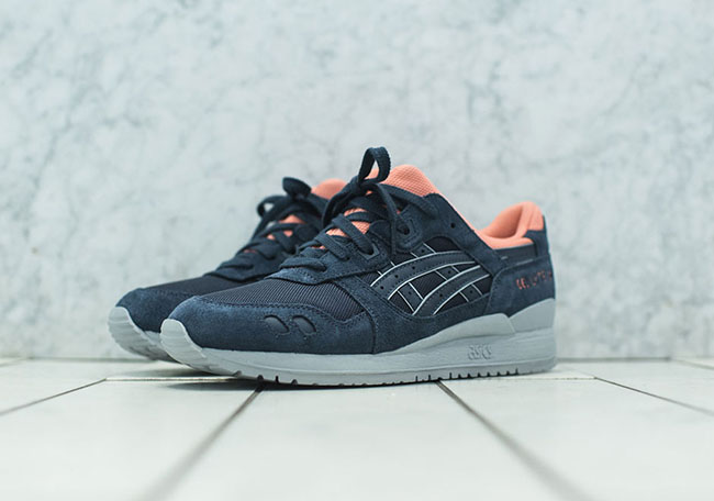 Asics Gel Lyte III Kithstrike Indian Ink Pink