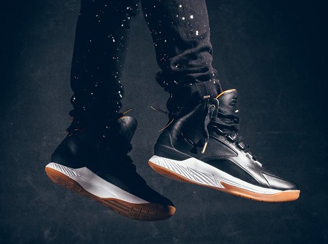 Curry Lux Black Leather