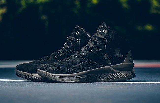 Curry Lux Black Suede
