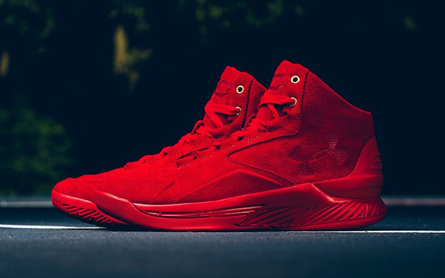 Curry Lux Red Suede
