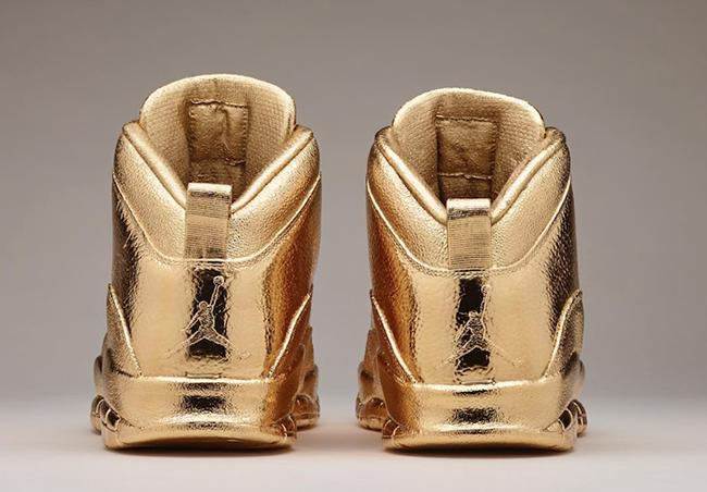 Drake 24K Gold Air Jordan 10 OVO