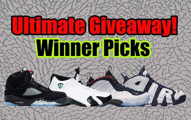 Giveaway Winner Picks Sneaker