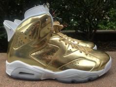 Gold Pinnacle Air Jordan 6