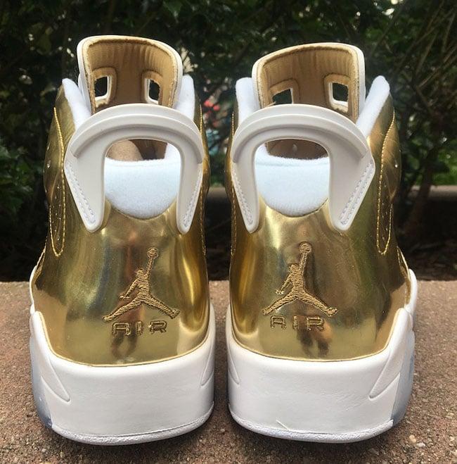 ea6275cf0c1af5 Air Jordan 6 Pinnacle Metallic Gold