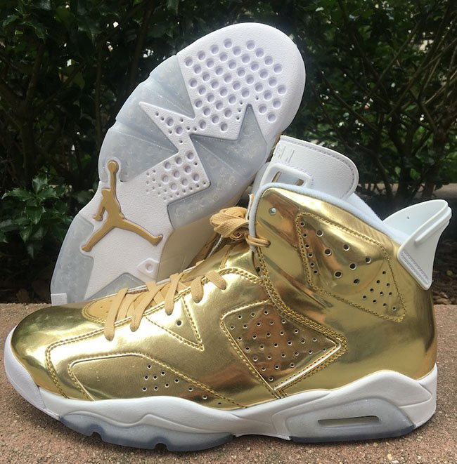 Air Jordan 6 Pinnacle Metallic Gold  a8799bd7c
