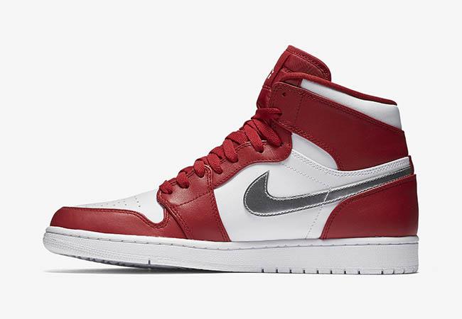 063ab854a42a88 Air Jordan 1 High Olympic Gym Red Silver White