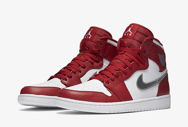 890d7e79d2f Air Jordan 1 High Olympic Gym Red Silver White | SneakerFiles