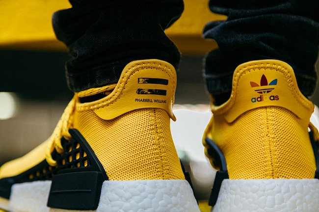 UA NMD PW Human Race Black Yellow White Hot Sale at Tal Cual