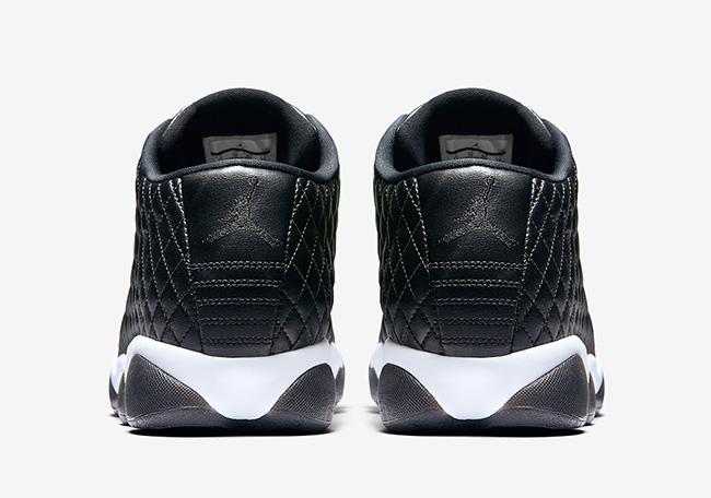 Jordan Horizon Low Quilted Black