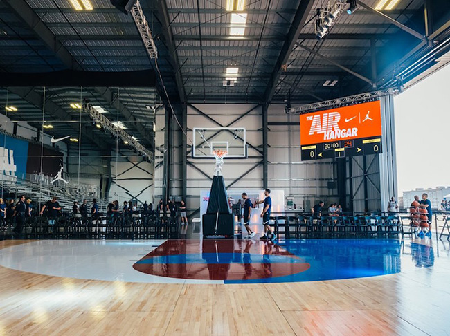 Jordan Nike Basketball Hangar Los Angeles
