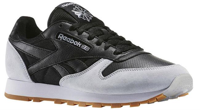 Kendrick Lamar Reebok Classic Leather Perfect Split Black Grey