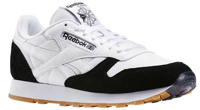 Kendrick Lamar Reebok Classic Leather Perfect Split White Black