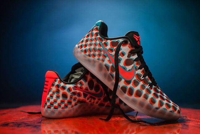 Kobe 11 3D Release