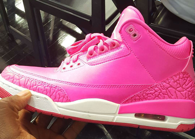 Mandy White Pink Air Jordan 3