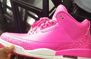 Mandy White Pink Air Jordan 3