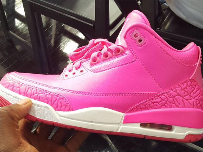 Air Jordan 3 'Hot Pink' Given to Mandy White