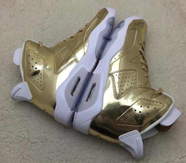 2fa74e20b236b3 Air Jordan 6 Pinnacle Metallic Gold