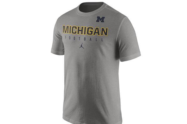 Michigan Jordan Brand Clothing