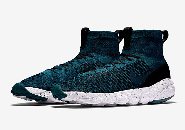 Nike Air Footscape Magista Flyknit Midnight Turquoise