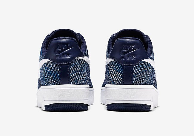 Nike Air Force 1 Flyknit Navy